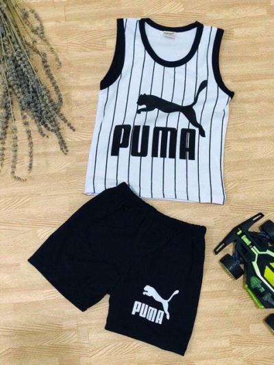 Bộ bé trai thể thao in NY, PUMA 004